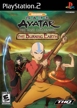 The Burning Earth PS2 cover