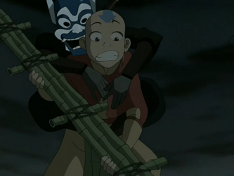 File:Blue Spirit and Aang.png