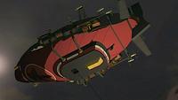 Equalist airship underside