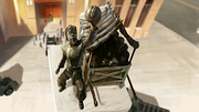Cabbage merchant statue