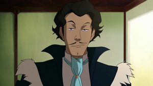 Varrick looking smug