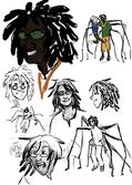 Anansi sketches