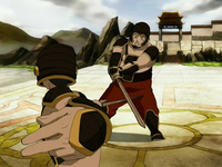 Fat fights Sokka