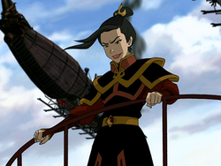 Azula on warpath