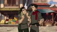 Bolin tries to convince Mako