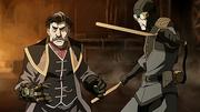 Hiroshi and the Lieutenant