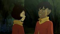 Jinora and Kai reunite