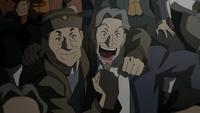 Shiro celebrates
