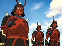 Pilot Fire Nation soldiers