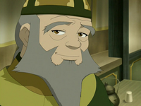 Iroh in tea shop attire