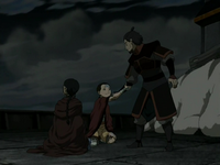 Hakoda and Aang