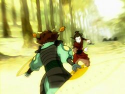 Suki versus Azula