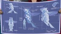 Hummingbird blueprint