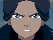 Katara glares angrily
