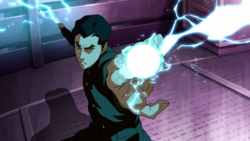 Mako generates lightning