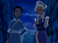 Katara and Yue unimpressed.png