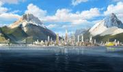 Republic City skyline