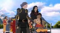 Lin comforting Korra