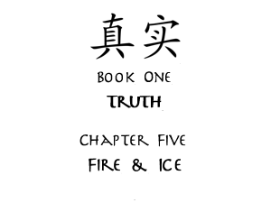 Fire & Ice Title Card