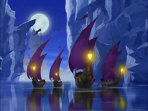 Southern Water Tribe ships