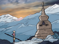 Air Nomad stupa