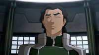Kuvira steeling herself