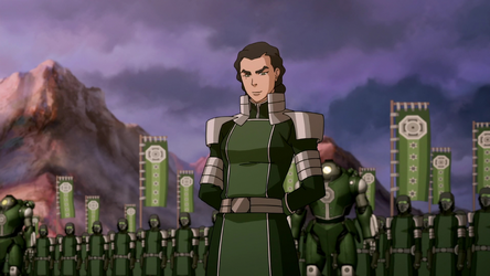 Kuvira - The Legend of Korra Book 4 antagonist