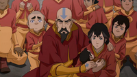 Tenzin and his family cornered