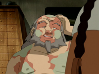 Iroh getting treated