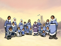 Southern Water Tribe members