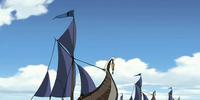 Cutter sailing ship