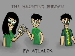 The Haunting Burden Cover
