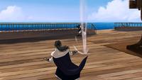 Zaheer hits a sentry