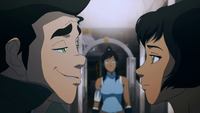 Bolin and Opal gaze at each other