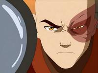 Zuko discovering Aang