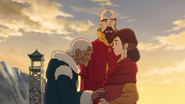 Katara, Pema, and Tenzin
