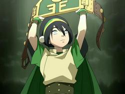 Toph's Champion's belt
