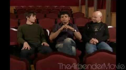 M. Night Shyamalan Interview by Bryan Konietzko and Mike DiMartino