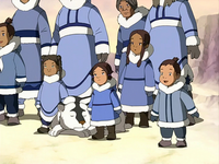 Southern Water Tribe children