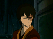 Zuko preparing to confront Team Avatar