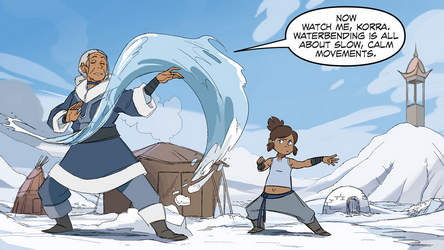 File:Katara trains Korra.png