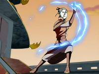 Azula generates lightning