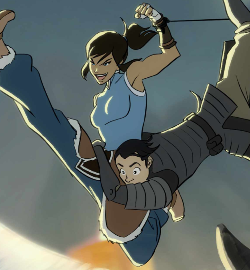 File:Korra and a metalbender.png