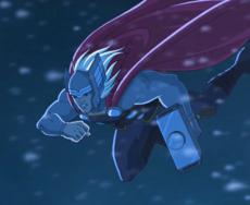Thor flying