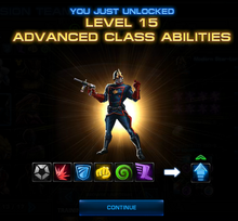 L15 Unlocked Class Abilities Screenshot