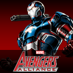 Iron Patriot Armor Defeated