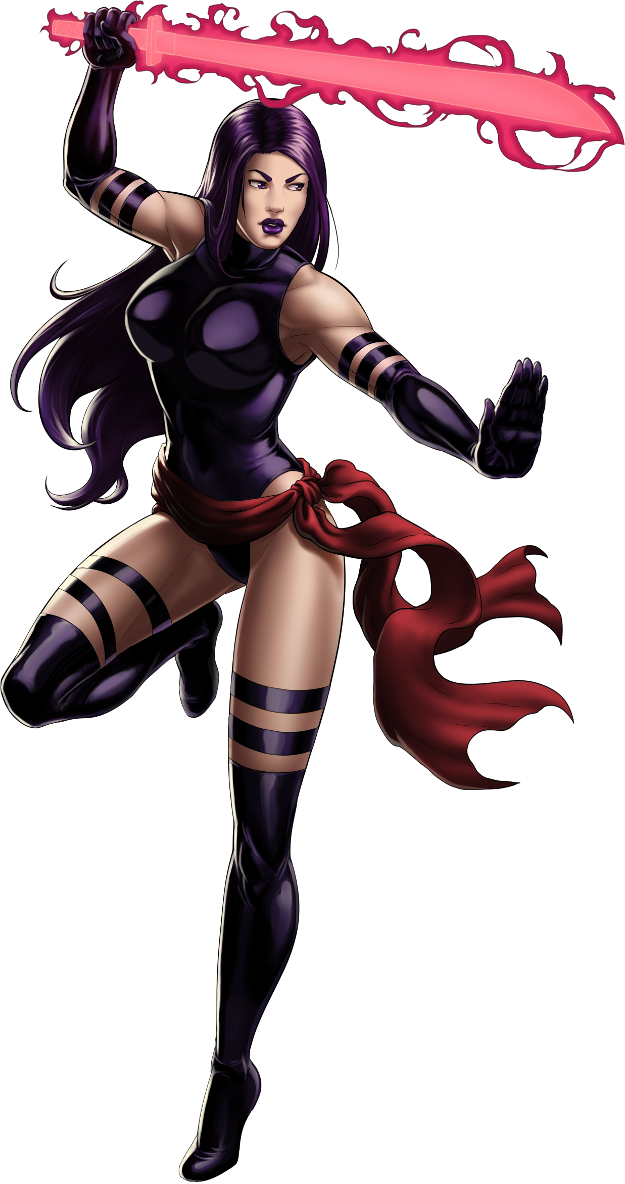 Marvel Psylocke Art FilePsylocke Portrait Art png