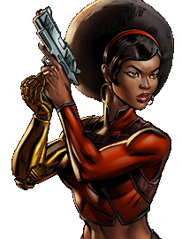 Misty Knight Dialogue 1