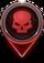 High Threat Map Icon