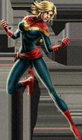 Ms. Marvel-Captain Marvel